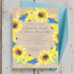 Rustic Sunflower Wedding Invitation additional 4
