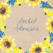 Rustic Sunflower Place Cards - Set of 9 additional 1