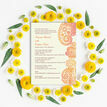 Orange & Red Paisley Indian / Asian Wedding Invitation additional 6