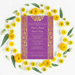 Purple Mandala Indian / Asian Wedding Invitation additional 5