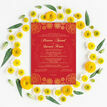 Red & Gold Indian / Asian Wedding Invitation additional 5