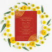Red & Gold Mandala Indian / Asian Wedding Invitation additional 5
