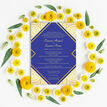 Royal Blue & Gold Indian / Asian Wedding Invitation additional 5