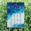 Blue Watercolour Wedding Seating Plan additional 1