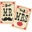Printable 'I'm her Mr, I'm his Mrs' Signs additional 2