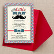 Little Man Party Invitation additional 2