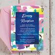 Bright Watercolour Evening Reception Invitation additional 3