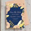 Navy, Blush & Gold Wedding Save the Date additional 3