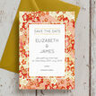 Origami Floral Wedding Save the Date additional 4