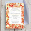 Origami Floral Wedding Invitation additional 6