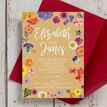 Pressed Flowers Wedding Invitation additional 4