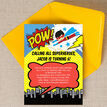 Superhero Children's Party Invitation additional 3