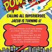 Superhero Children's Party Invitation additional 4