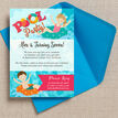 Swimming Pool Party Invitation additional 2
