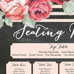 Rustic Floral Wedding Seating Plan additional 10