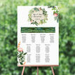 Flora Wreath Wedding Seating Plan additional 1