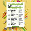 Football Themed Daily Kids' Planner additional 3