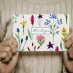 Pack of 10 Wild Flowers Floral Thank You Note Cards additional 2