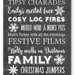 Personalised Typography Christmas Cards - Chalkboard additional 2