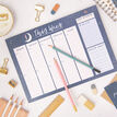 Peaceful Night Weekly Planner Desk Pad additional 3