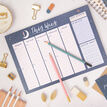 Peaceful Night Weekly Planner Desk Pad additional 5