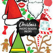 Christmas Holiday Themed Printable Photo Booth Props additional 1
