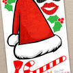 Christmas Holiday Themed Printable Photo Booth Props additional 2