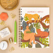 Wild Woman In Jungle Personalised Notebook additional 2