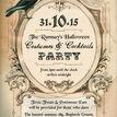 Vintage Halloween Wedding Invitation additional 2