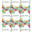 Floral Fiesta Place Card - Sheet of 9 additional 2