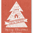 Rustic Red Personalised Christmas Cards additional 2
