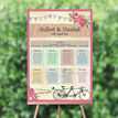 Tandem Bicycle Wedding Seating Plan additional 1