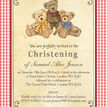 Teddy Bears' Picnic Christening / Baptism Invitation additional 4