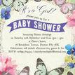 Butterfly Garden Baby Shower Invitation additional 4