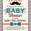 Little Man Baby Shower Invitation additional 4