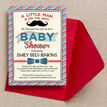 Little Man Baby Shower Invitation additional 2