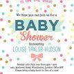 Pastel Confetti Baby Shower Invitation additional 5