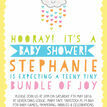 Kawaii Rain Cloud Baby Shower Invitation additional 4
