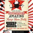 Magic Show Party Invitation additional 4