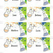 Mad Science Name Cards - Sheet of 8 additional 2