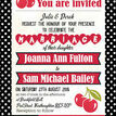 Retro Cherry Rockabilly Invitation additional 5