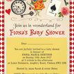 Alice in Wonderland Baby Shower Invitation additional 4