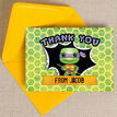 Turtle Superhero Thank You Card additional 2