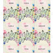 Butterfly Name Cards Sheet - Set of 9 additional 2