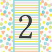 Candy Confetti Table Number additional 1