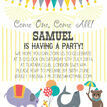 Circus Fun Party Invitation additional 4