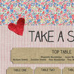 Country Textiles Wedding Seating Plan additional 4