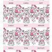 Fairy Princess Name Cards - Set of 9 additional 2