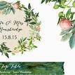 Flora Wreath Wedding Seating Plan additional 4