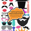Full Set of Printable Photo Booth Props additional 1
